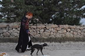Isabel et Fidélio sur les chemins de Formentera