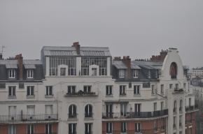 Vue extérieure d'ateliers parisiens similaires à ceux d'Isabel