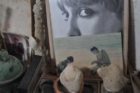 Souvenirs et détail le ma maison de Formentera