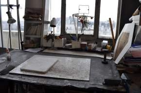 Table de l'atelier de Paris
