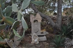 Le jardin des sculptures de Formentera