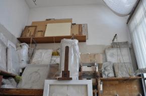 Réserves de l'atelier de Paris