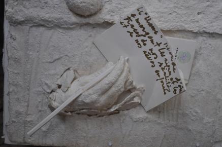 Le Blanc, élan vers l'absolue blancheur Référence: IE 2016 DD #0036 1993 Livre objet, daté et signé 106 x 40 x 30 cm Collection de l'artiste - Disponible