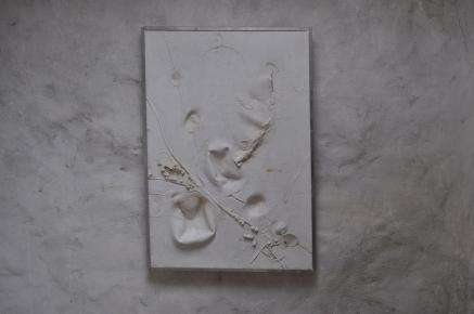 Sans titre Référence: IE 2016 DD #1008 Années 70 Relief tactile polymère 74 x 51 x 3 cm Collection de l'artiste - Disponible