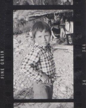 Inès Etcheverry à Ibiza, en 1964