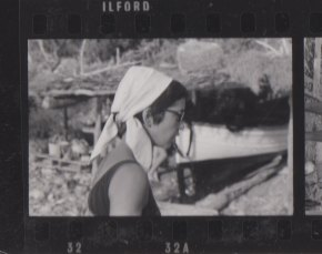 Isabel Echarri à Ibiza, en 1964